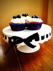 Blueberry Oatmeal Cupcakes